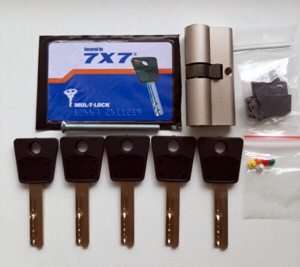 KUDERA klíčové systémy - oboustranná vložka - 7x7