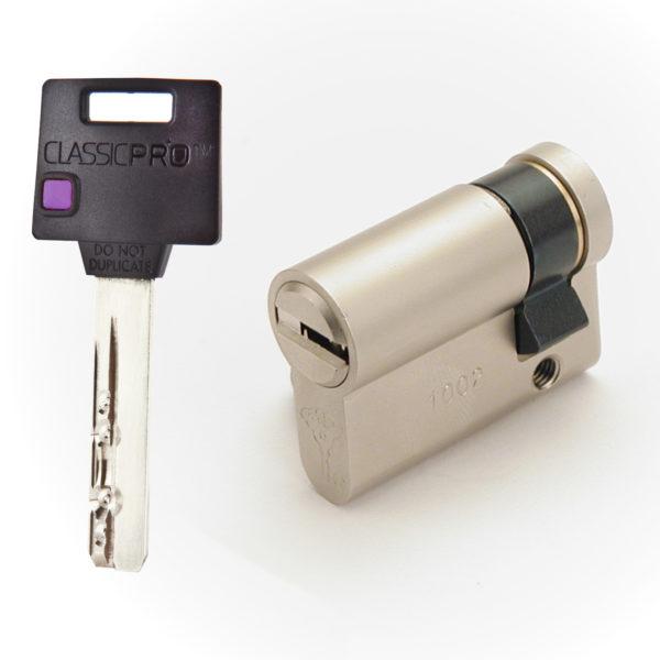 KUDERA klíčové systémy - půlvložky, jednostranné vložka - ClassicPro