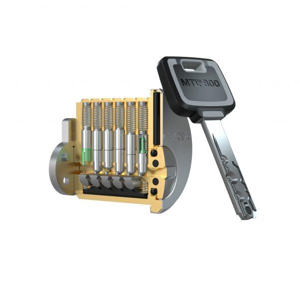 KUDERA klíčové systémy - schránkový zámek - MTL800 - MT5+